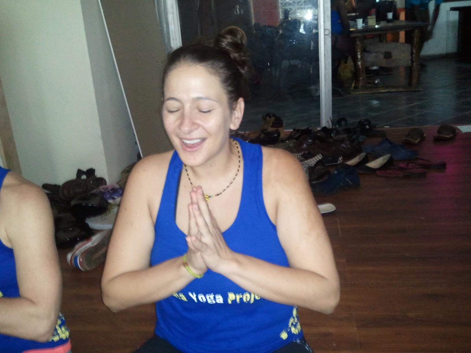 Paige Elenson, Africa Yoga Project founder